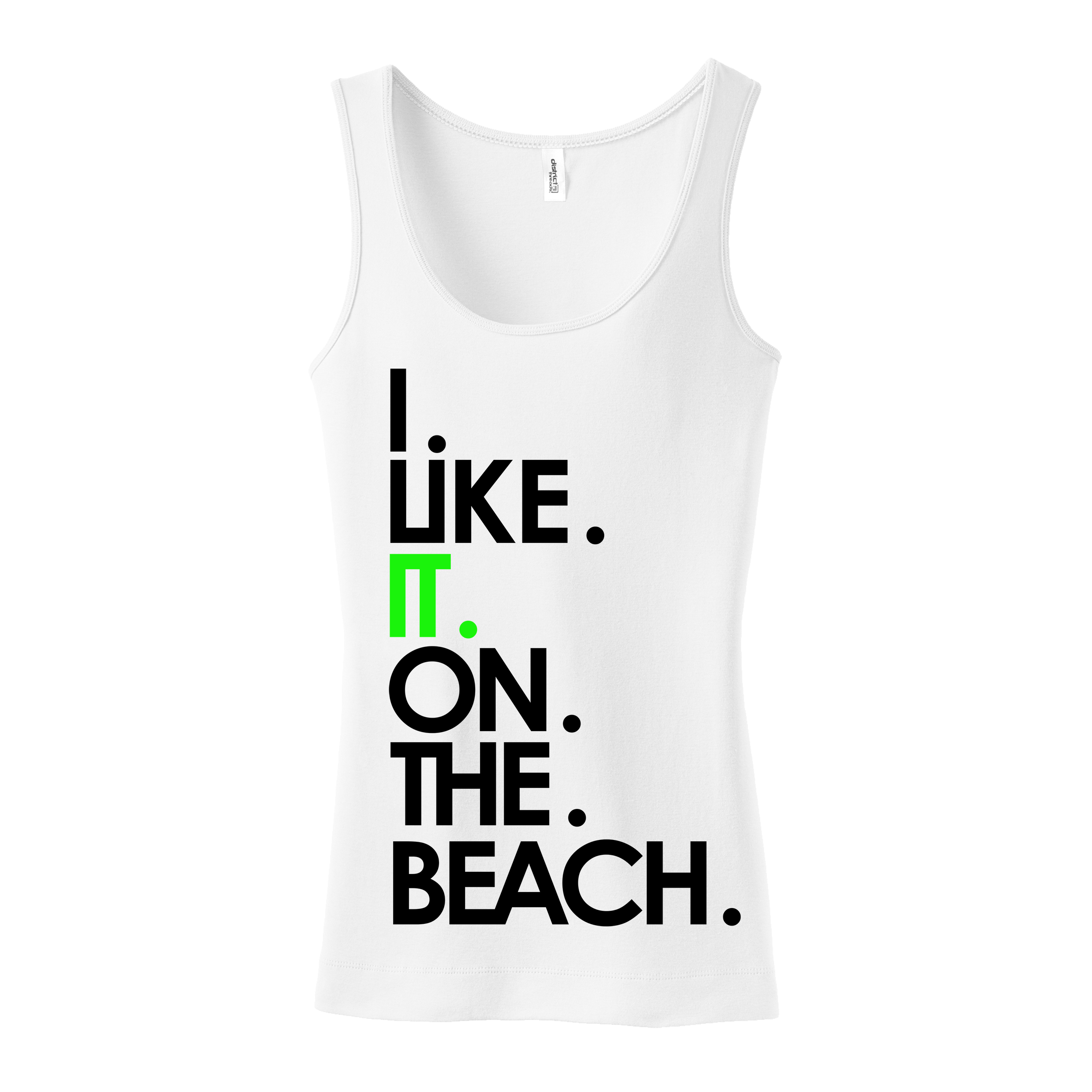 ILIKEITONTHEBEACH Tank - BIG CUPS